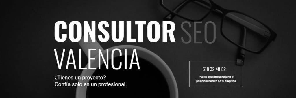posicionamiento seo - consultor seo en Valencia